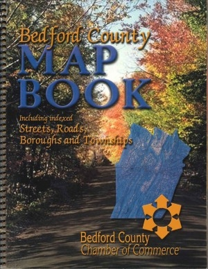 Bedford County Map Book compiled and edited by the Bedford County Chamber of Commerce